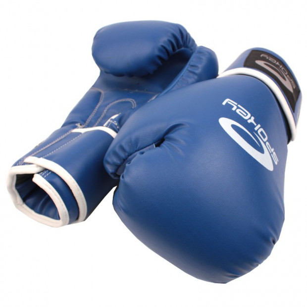 Boxerské rukavice Spokey Benten Blue 10 oz