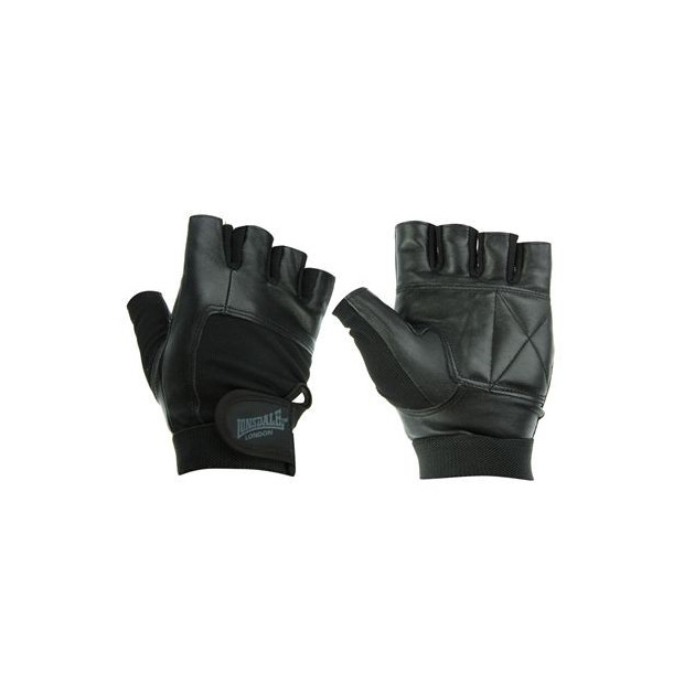 Fitnes rukavice Lonsdale Leather Weightlifting Gloves
