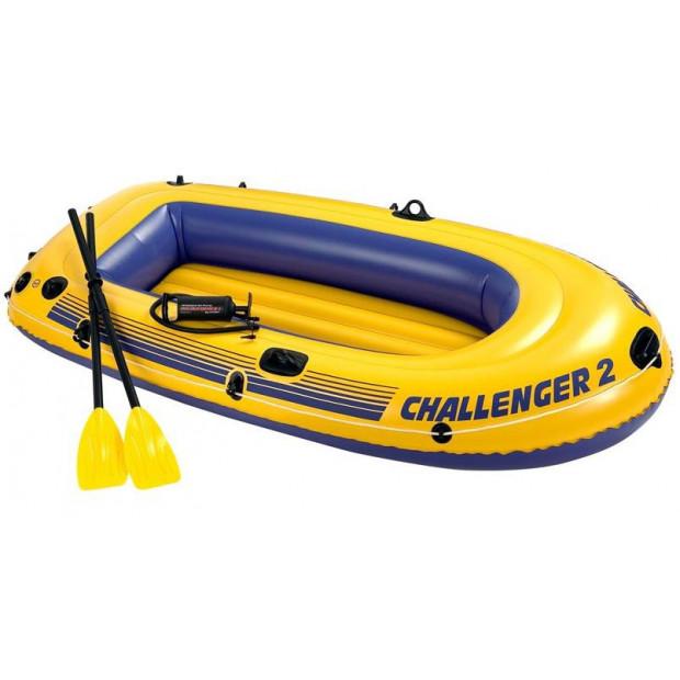 Nafukovací čln Intex Challenger 2 Boat set