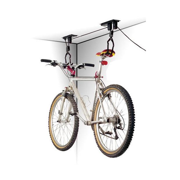 Držiak bicykla na strop kladkový