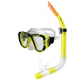 Dětský potápěčský set Spokey Coral - žlutá
