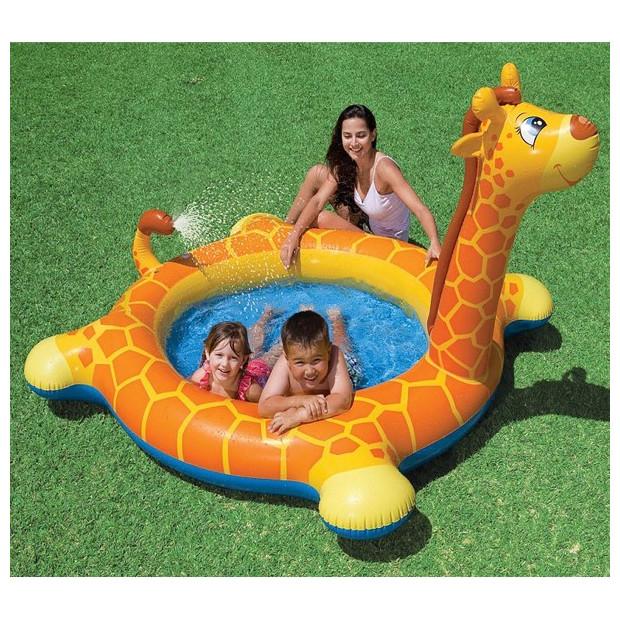 Nafukovací bazén so sprchou Intex Žirafa