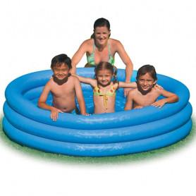 Nafukovací bazén INTEX Crystal Blue 168 x 41 cm