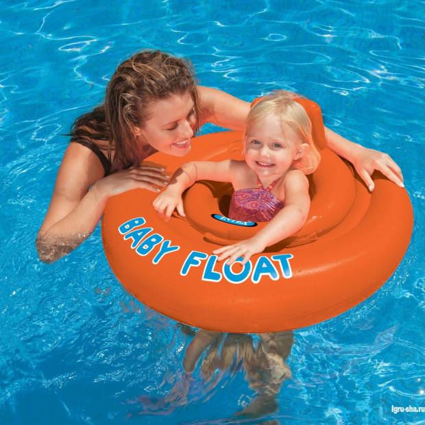 Detský nafukovací kruh dvojitý MY BABY FLOAT II