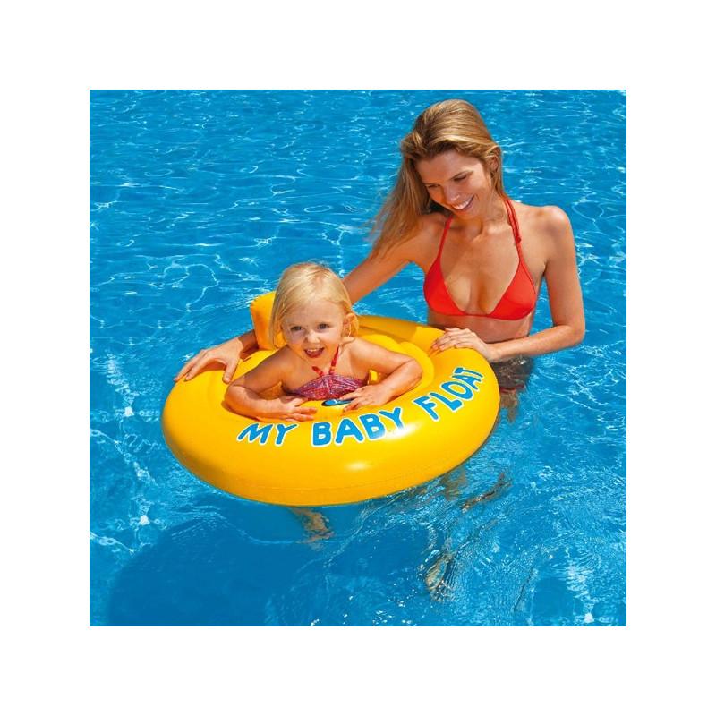 Dětský nafukovací kruh dvojitý MY BABY FLOAT