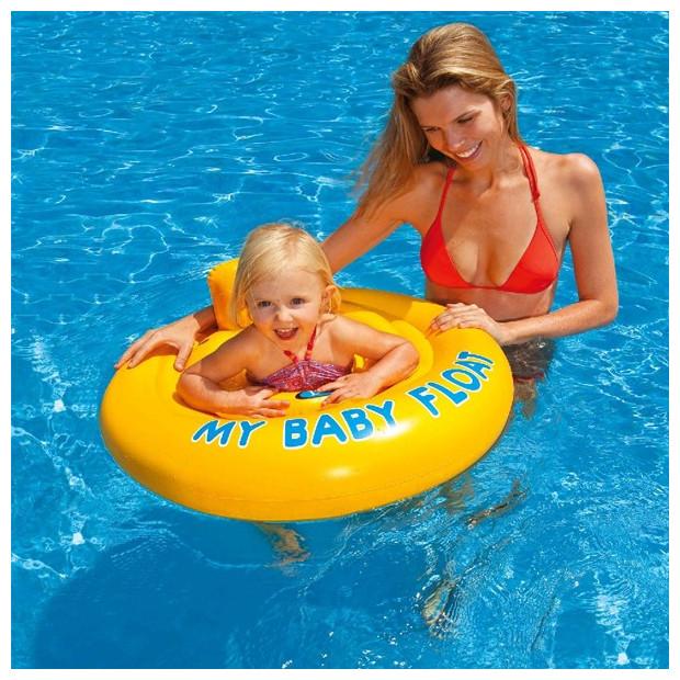 Detský nafukovací kruh dvojitý MY BABY FLOAT