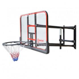 Basketbalová doska MASTER 127 x 71 cm s konštrukciou