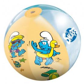 Nafukovací plážový míč 50 cm ŠMOULOVÉ