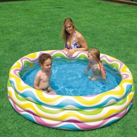 Bazén nafukovací - COLOR WAVE