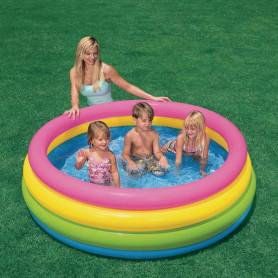 Nafukovací bazén INTEX barevný