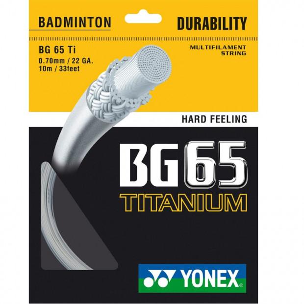 Bedmintonový výplet Yonex Micron BG 65 Titanium (10 m)