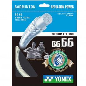 Badmintonový výplet Yonex BG 66 LTD, 10m