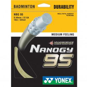 Badmintonový výplet Yonex Nanogy 95 0,69 mm (10 m)