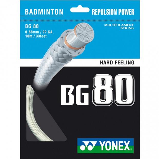 Bedmintonový výplet Yonex Micron BG 80 (10 m)