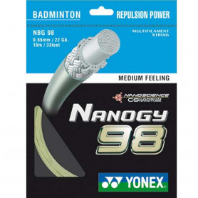 Badmintonový výplet Yonex Nanogy 98 0,66 mm (10 m)