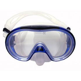 Profi potápěčské brýle Tigullio Bright, silikon senior