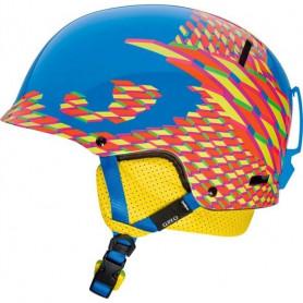 Lyžařská helma Giro Revolver cyan seventhirty