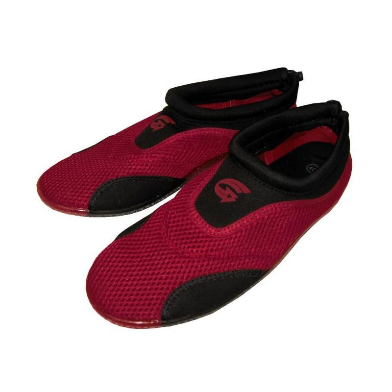 d7e0634a51a4 Dámské neoprenové boty do vody Alba červeno-černé - ŽijemeŠportom.sk