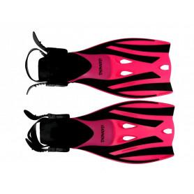 Páskové ploutve Dovod X-Lite Pro junior, růžové