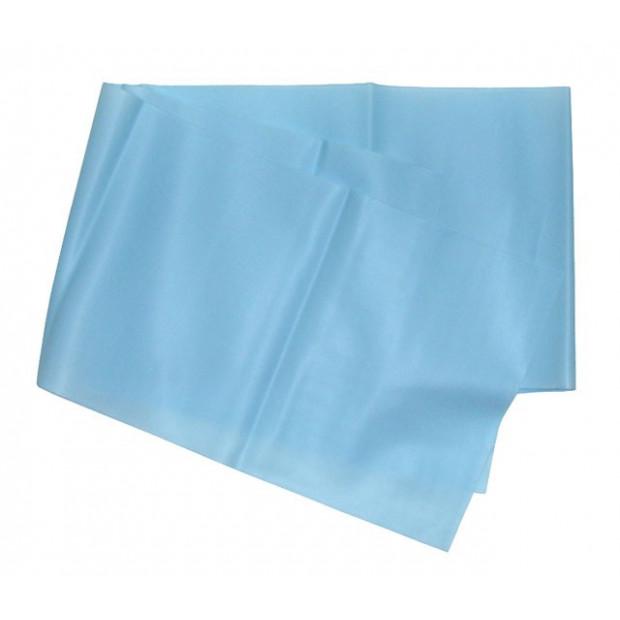 Gumová posilňovacie stuha na aerobic - modrá