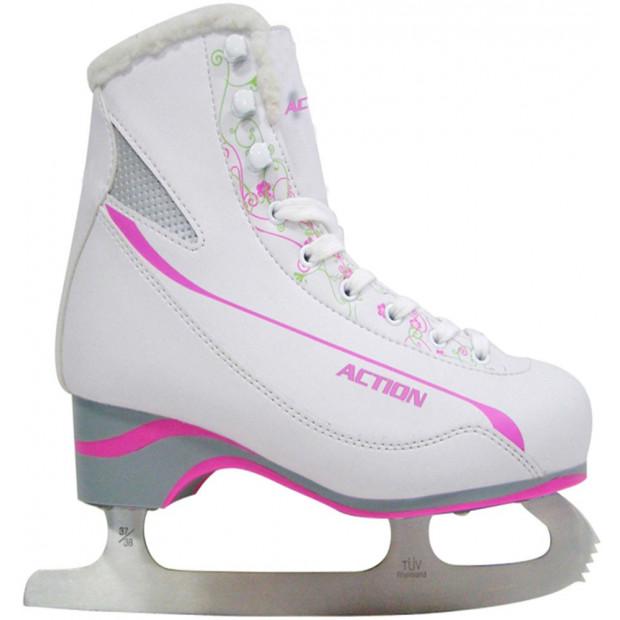 Dievčenské korčule na krasokorčuľovanie GUTS