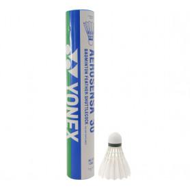 Péřové míče Yonex AeroSensa 30 Feather (dóza 12ks)
