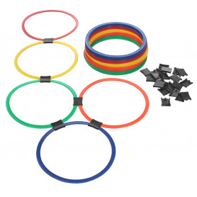 Proskakovačka agility žebřík Merco Hoop 20 kruhů