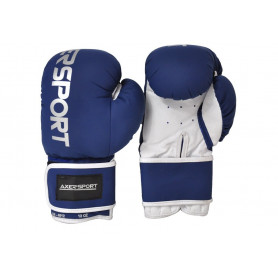 Boxerské rukavice AXERFIT Fight Blue