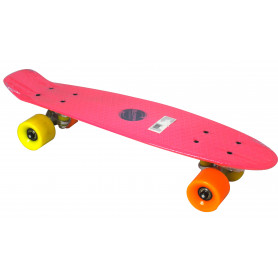 Penny board AXERFIT Fish California Pink