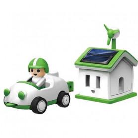 Autíčko se solární garáží Green Life