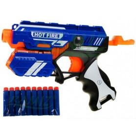 Pistole Soft Bullet s 10-ti pěnovými náboji