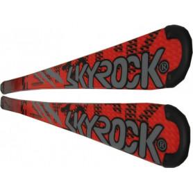 Lyže Skyrock SR 160 Red 160 cm bez vázání