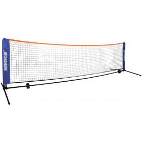 Merco badminton set 6 1m stojany na kurt vč sítě