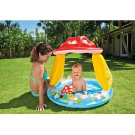Dětský bazének Intex 57114 Muchomůrka 85 x 85 x 23 cm