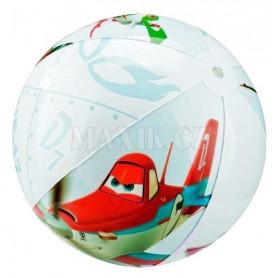 Nafukovací plážový míč barevný PLANES
