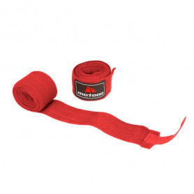 Boxerské bandáže Meteor Red 3 m
