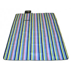 Pikniková deka AXER CAMP Rainbow 210 x 180 cm