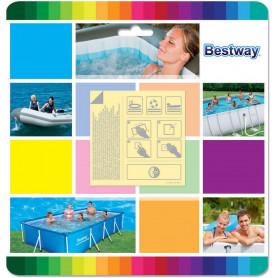 Samolepící záplaty Bestway na čluny a bazény - 10 ks