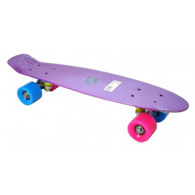 Penny board AXERFIT Fish California Purple