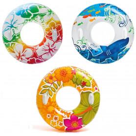 Kruh plavecký s držadly Intex