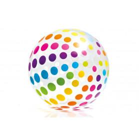 Nafukovací plážový míč Intex barevný 107 cm
