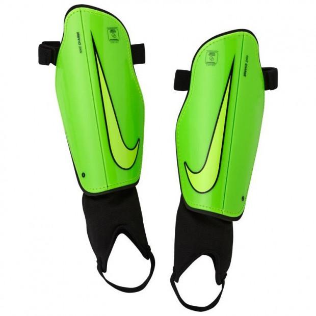 Fotbalové chrániče Nike Charge 2.0 Green