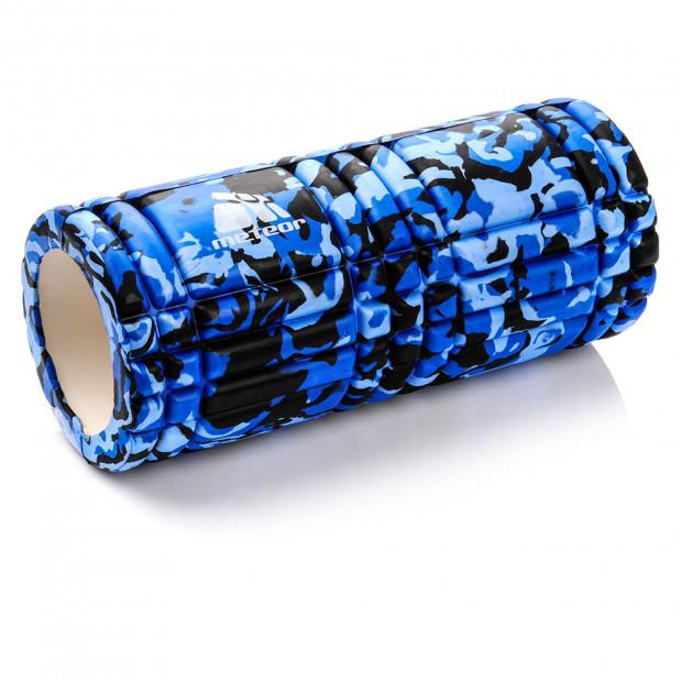 Masážny valec Meteor EVA Blue 14 x 33 cm