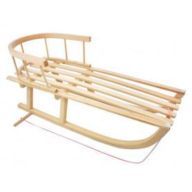 Dřevěné sáně Axer Sport 90 cm s ohrádkou
