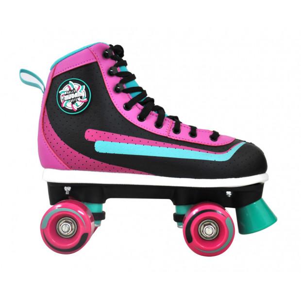 Dámske kolieskové korčule Nijdam Retro Smash
