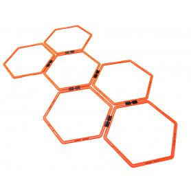Proskakovací šestiúhelníky Axer Sport Agility Hexagon