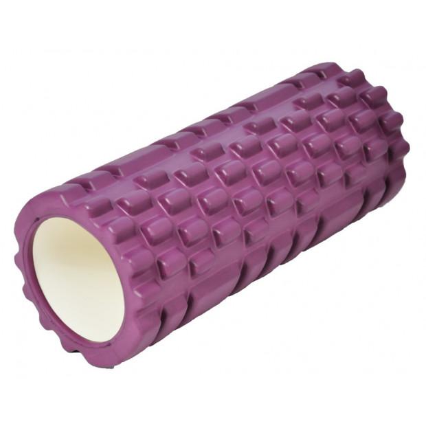 Masážny valec Axerfit Roller Purple 32,5 x 14 cm