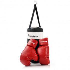 Dětský boxovací set Meteor - pytel + rukavice