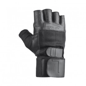 Fitness rukavice Spokey Guanto II Black