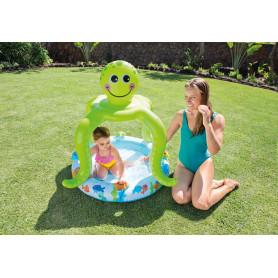 Dětský bazén se stříškou Intex Chobotnice 102 x 104 cm